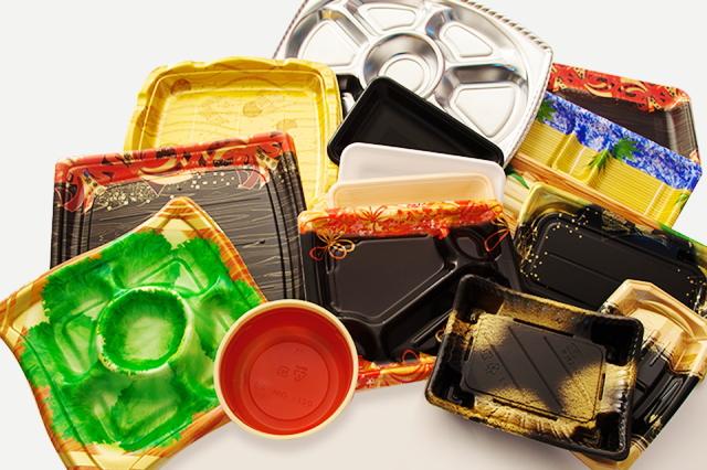 既存品や自社オリジナルなど、食品包装資材にこだわらないあらゆる商品を取り揃えています 企画・提案